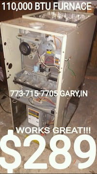 773-715-77O.FIVE GARY,IN furnace Chicago, 60649