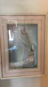 woman holding jar painting with frame Palm Desert, 92211