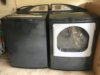 Like new Digital Washer and Dryer