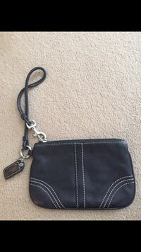 brown leather wristlet Woodinville