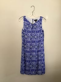 Women's DANA BUCHMAN blue & white loose fitted dress… Size small Manasquan, 08736