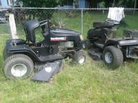 black and green riding mower Seale, 36875