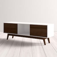 Two-Toned TV stand