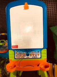 Learning letters interactive easel