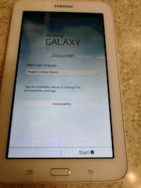 white Samsung Galaxy Tab tablet Jacksonville, 32246