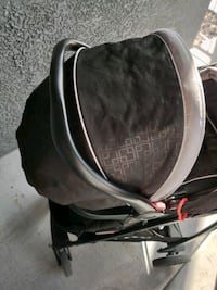 GRACO STROLLER AND REAR FACING CAR SEAT WITH BASE