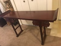 5x3 ft hand curved heavy mahogany wood flowery legs console table new click on my profile picture on this page to check out my other items message me if you interested gaithersburg gaithersburg md 20877 Gaithersburg, 20877