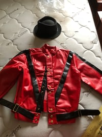 Halloween/ Cosplay thriller Michael Jackson jacket and hat Toronto, M9C 1G5