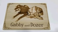 Personalized wood sign  Whitehouse, 08889
