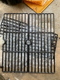 Brand new Master Forge cast iron grates and hardware