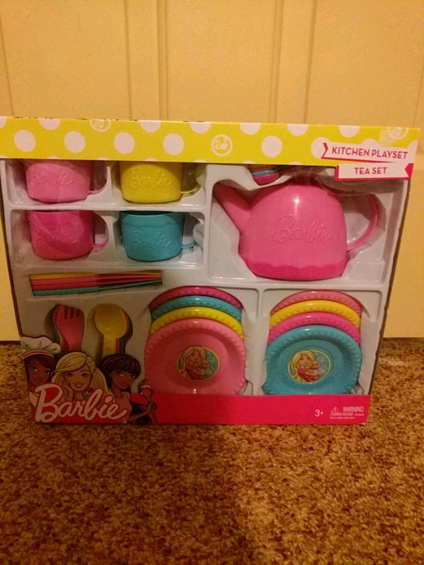 Barbie Kitchen Playset