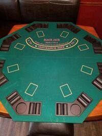 Foldable poker table top Imperial, 63052