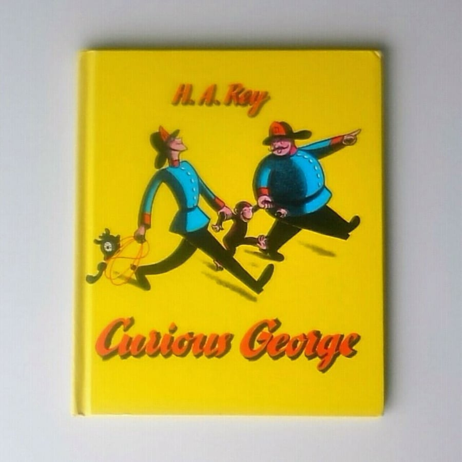 """Vintage hardcover """"Curious George"""" (H.A.Ray) published in 1969"""