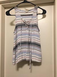 gray and white striped tank top Wyomissing, 19610