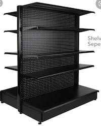 Gondola retail shelving starting at $99