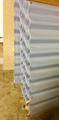 """1/8"""" x 3' x 20' corrugated rood or siding sheets. Puyallup, 98372"""
