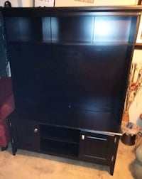 Tv stand solid wood black North Little Rock, 72118