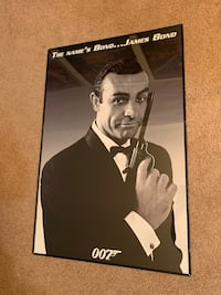 James Bond Poster (Framed) Reston, 20190