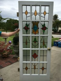 Antique European Stained Glass Door Cape Coral, 33914