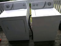 white washer and dryer set Indianapolis, 46255