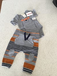 New 3-6m cute outfit for boys Pearl City, 96782