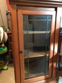 Two entertainment centers, shelf, cabinet, glass door, there are two of them Langhorne, 19047