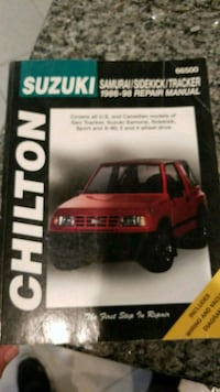 Suzuki - Vitara / Sidekick - 1998 Chilton book 966 mi