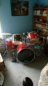 red and black drum set Virginia Beach, 23456
