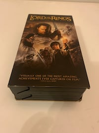 LORD OF THE RINGS VHS Bowie, 20721