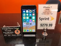Sprint / Boost iPhone 7 32GB Temple Terrace, 33617
