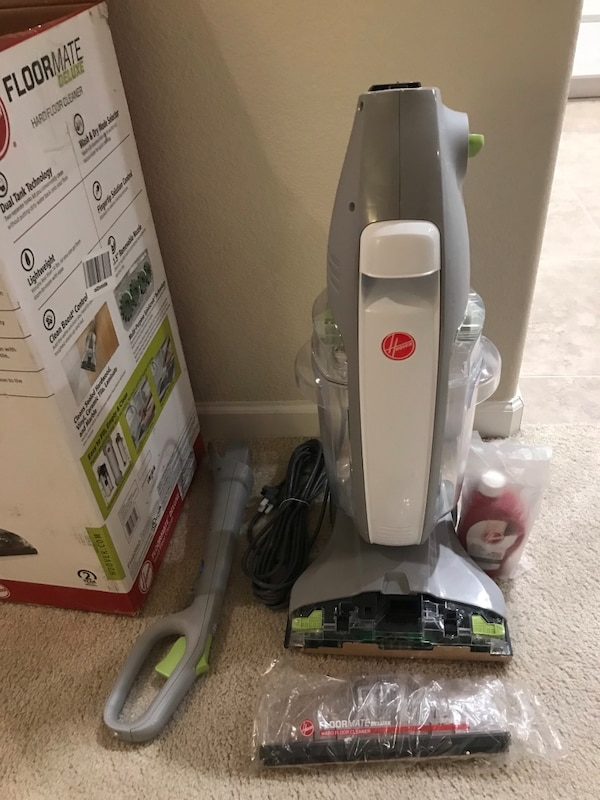 Floormate Deluxe Hard Floor Cleaner Never Been Used With Hoover Hard Floor Solution