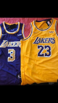 Los Angeles Lakers Jerseys All Sizes