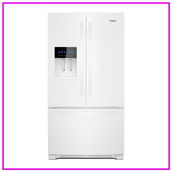 Scratch & Dent Whirlpool 36-inch French Door Refrigerator WRF555SDHW