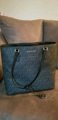 monogrammed gray Michael Kors leather tote bag Madison Heights, 24572