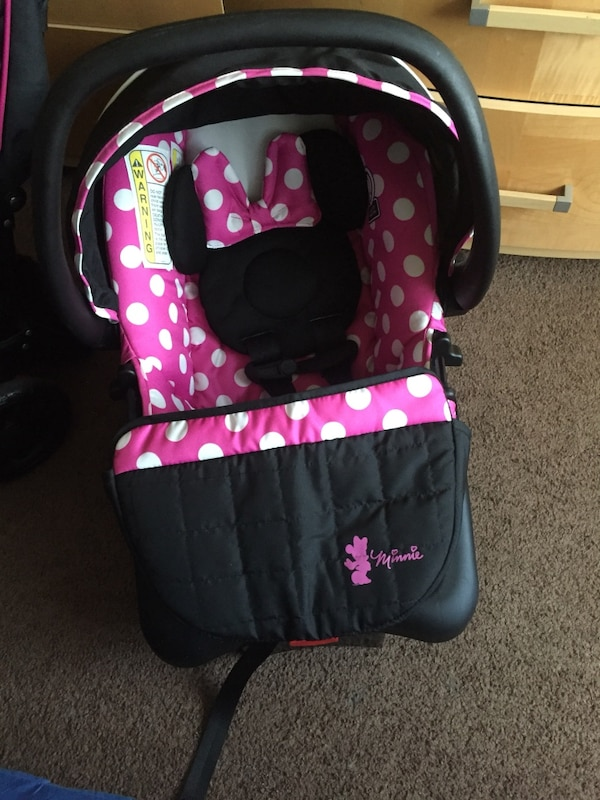 Baby S Disney Minnie Mouse Car Seat Carrier