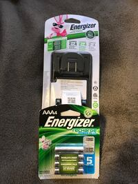 Energizer battery charger and batteries  West Valley City, 84120