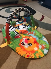 Baby's white, green and red activity gym  Montgomery, 36117