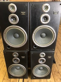 Set of 4 technics working speakers  Auburn, 03032