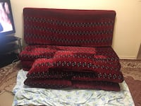 afghani red pillow with bed each pillow and bed is $60 I have 4 pillows and 4 bed $240 Toronto, M4H 1L2