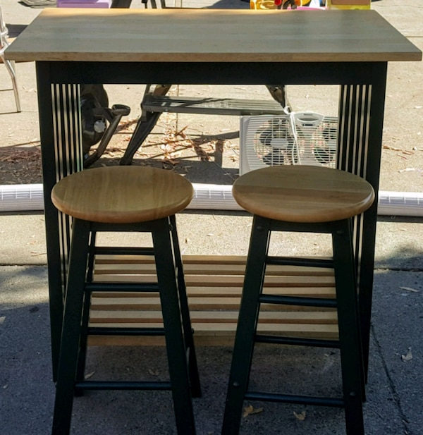 Breakfast Bar With 2 Stools Summervilleaugusta Org