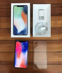 Apple iPhone X 256GB Silver UNLOCKED (AT&T) A1901 (GSM) + MORE Las Vegas