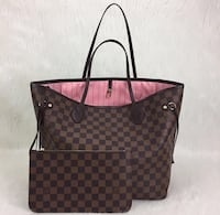 Louis vuitton damier rosa neu