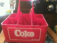 6 bottle cocacola carrier case marque deposee Toronto, M4L 1Y8