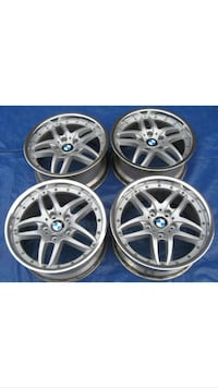 """Rare style 71 BMW E36 46 M3 OEM Staggered 18""""  Restored Wheels Rims Springfield, 22153"""