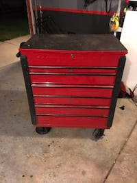 red and black tool chest NEWLENOX