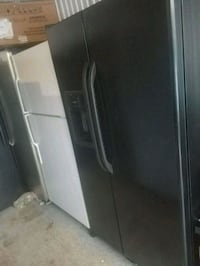 black side by side refrigerator with dispenser Temple Hills, 20748