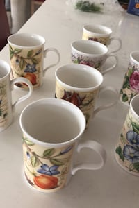Never used China mugs...set of 8 Paid 12$ each Vancouver, V5K