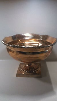 Lovely Brass Footed Bowl Dish
