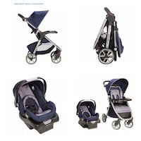 Eddie Bauer Alpine 4 Travel System - Stroller and Car Seat/ Baby Carrier Rancho Cucamonga, 91701