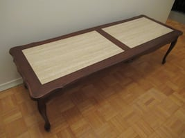 Wooden Coffee Table 55x19x16""